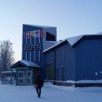 Aspen-Halli ulkoa